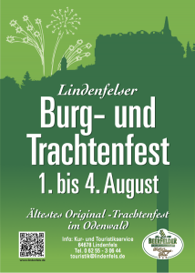Burgfest 2014 Flyer (Front)
