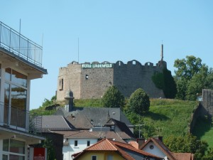 Burgfest-Schriftzug 2014
