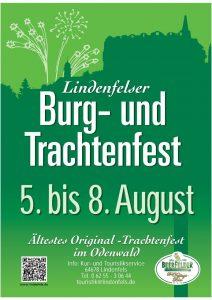 Burgfest 2016 - Plakat ohne Programm